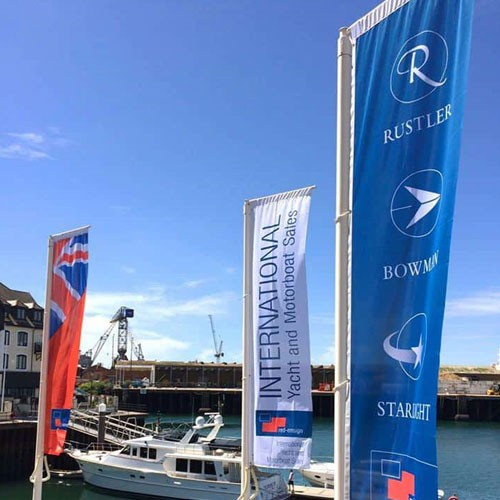 harbour forecourt flags