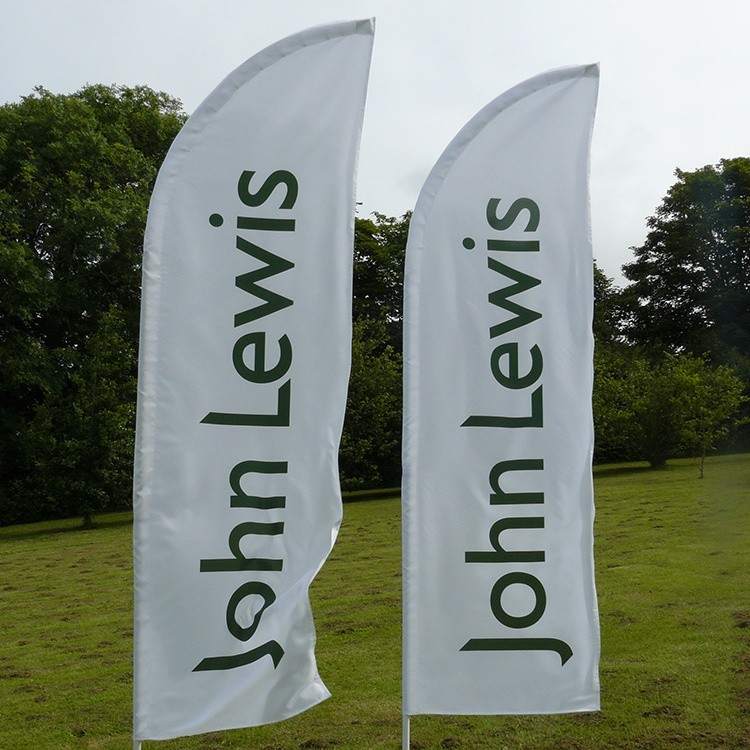 John Lewis feather flags