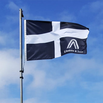flag of cornwall